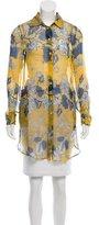 Jean Paul Gaultier Silk Button-Up Tunic