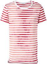 Faith Connexion striped T-shirt - men - Cotton - L