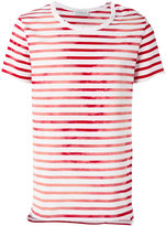 Faith Connexion striped T-shirt - men - Cotton - M