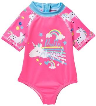 Wippette Unicorn Rainbow Creeper (Baby Girls 0-9M)