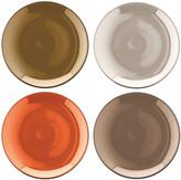 LSA International Polka Assorted Tea Plates