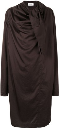 Lemaire Ruched Midi Dress
