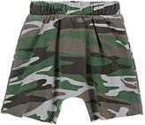 Joah Love Camouflage Cotton French Terry Shorts