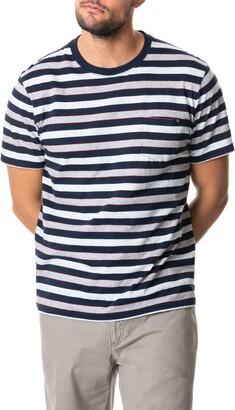 Rodd & Gunn Ferndale Stripe Pocket T-Shirt