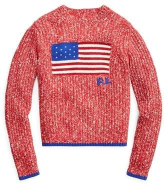 Ralph Lauren Flag Wool-Blend Jumper