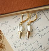 LaBelle et la Bete Vintage Style Spike Earrings