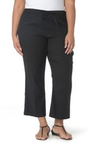 NYDJ Plus Size Women's Jamie Wide Leg Crop Pants