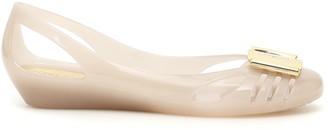 Salvatore Ferragamo Jelly Ballet Flats