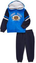 Kids Headquarters Blue Football Jacket & Navy Pants - Infant Toddler & Boys