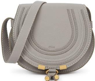 Chloé Marcie small leather saddle bag