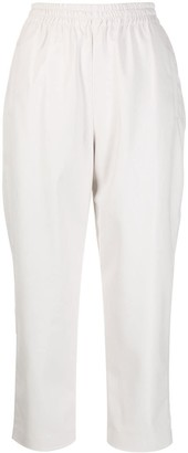 Pinko Cropped Straight Leg Trousers