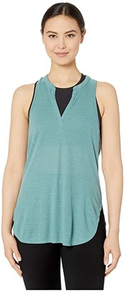 Prana Corazon Tunic (Dusty Aloe Heather) Women's Sleeveless