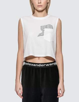 Alexander Wang Alexander Wang.T High Twist Jersey Muscle T-shirt