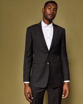 Debonair Check Suit Jacket