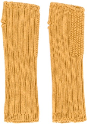 Holland & Holland Cashmere Knited Mittens
