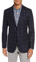 Gant Men's O2. The Check Wool Blend Blazer