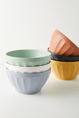 Anthropologie Matte Latte Serving Bowl By in White Size PASTA