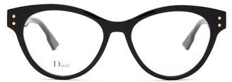 Christian Dior Diorcd4 Cat-eye Acetate Glasses - Black
