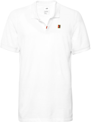 Nike Tennis Slim-Fit Cotton-Blend Dri-Fit Pique Polo Shirt