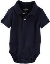 """Osh Kosh OshKosh Baby Boys' """"Cool Pique"""" Polo Bodysuit - , 12 months"""