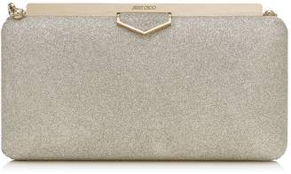 Jimmy Choo Glitter Ellipse Clutch