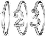 Lulu Frost Code Number Ring - Silver