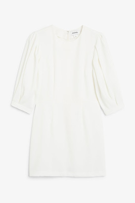 Monki Fitted mini dress