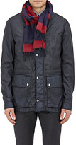 Ermenegildo Zegna Men's Silk-Cashmere Stripe Scarf-RED
