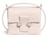 Alexander McQueen Twin skull leather satchel