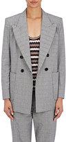 Etoile Isabel Marant Women's Lorenz Stretch-Cotton Double-Breasted Jacket