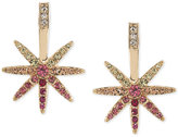 ABS by Allen Schwartz Gold-Tone Crystal Ombré Star Stud Earrings