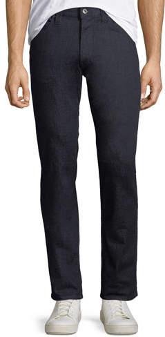 Emporio Armani Men's Stretch-Denim Jeans with Tonal Stitching
