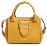 Burberry Small Calfskin Leather Tote - Yellow