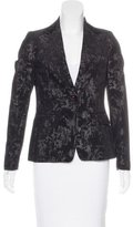 Golden Goose Deluxe Brand Patterned Notch-Lapel Blazer