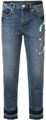 Escada Sport Faded Skinny Jeans