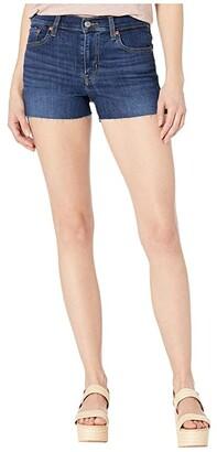 Levi's(r) Womens High-Rise Shorts (Carbon Copy) Women's Shorts