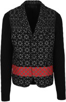 Haider Ackermann Knit Sleeves Blazer