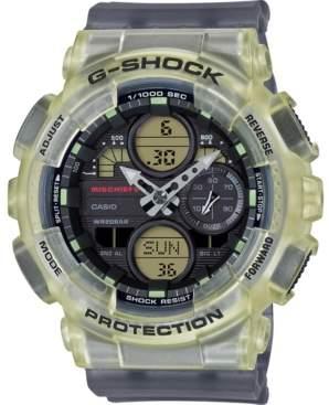 G-Shock Women's Analog-Digital Mischief Gray Translucent Resin Strap Watch, 45.9mm