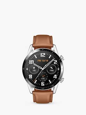 Huawei Watch GT 2 Smart Watch with GPS, 46mm, Pebble Brown