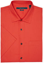 Perry Ellis Slim Fit Short Sleeve Dot Print Shirt