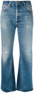 RE/DONE inner panel cropped jeans - women - Cotton - 26