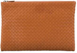 Bottega Veneta woven leather clutch