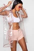 boohoo Angelina Glitter Trim Clear Mac