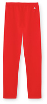 Petit Bateau Girls plain stretch cotton leggings