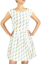 Fashion Pickle Pineapple Print Dress