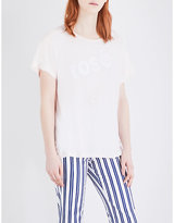 Wildfox Couture Rosé All Day cotton T-shirt