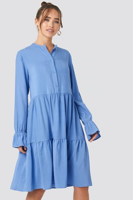 NA-KD Solid Shirt Dress