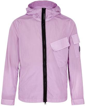 C.P. Company Lilac Hooded Shell Jacket