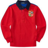 Ralph Lauren Cotton Mesh Rugby Shirt