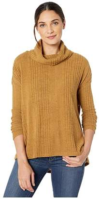 Miss Me High-Low Cowl Neck Long Sleeve Top